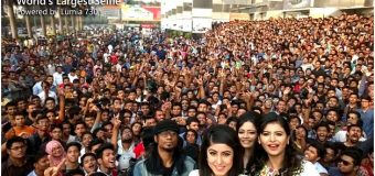 WORLD'S LARGEST SELFIE USING MICROSOFT'S LUMIA 730